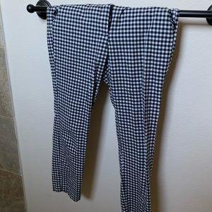 L Zara Checkered Pants